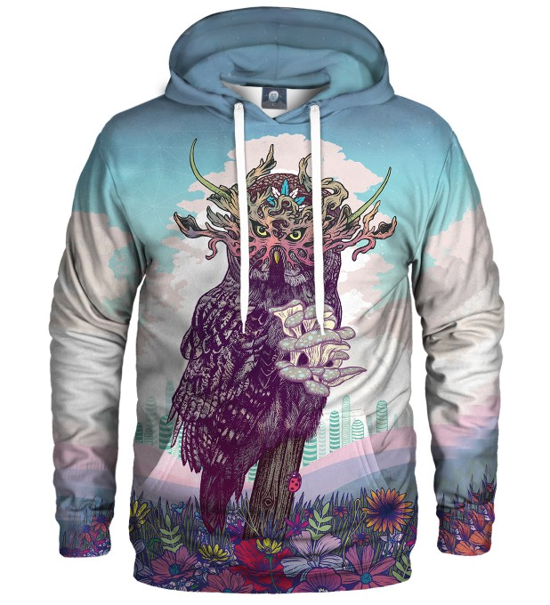 JOURNEYING SPIRIT - OWL HOODIE Thumbnail 1
