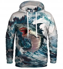 Aloha From Deer, SHARK STORM HOODIE Thumbnail $i