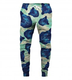 Aloha From Deer, PANTHER HEADS SWEATPANTS Thumbnail $i