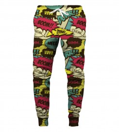 Aloha From Deer, COMIC SWEATPANTS Thumbnail $i