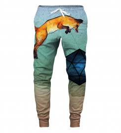 Aloha From Deer, WILD FOXES SWEATPANTS Thumbnail $i