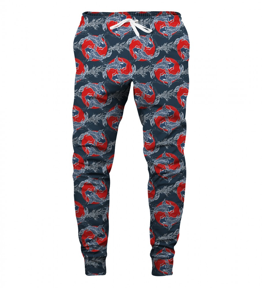 Aloha From Deer, JAPANESE FISH SWEATPANTS Image $i