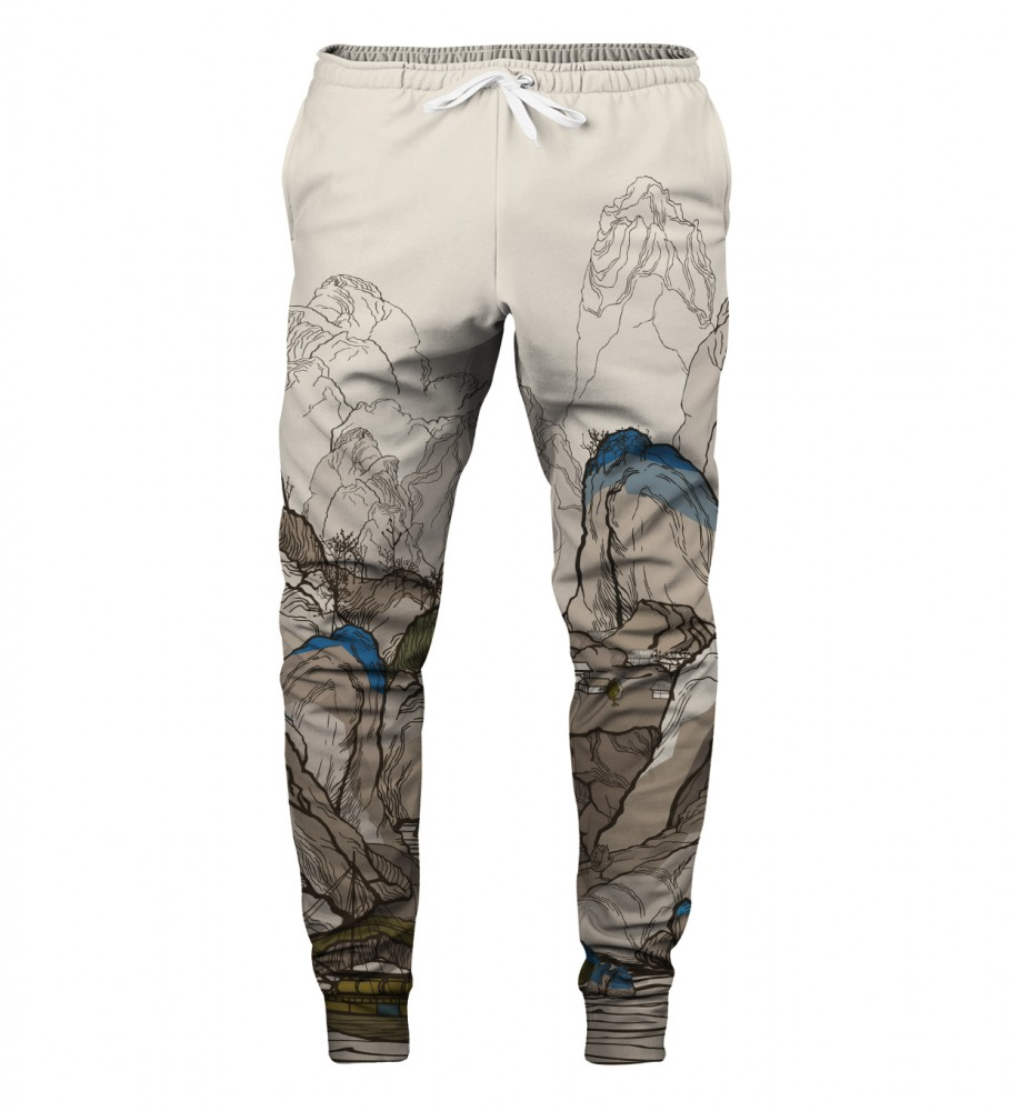 Aloha From Deer, ALL THE LINES SWEATPANTS Image $i