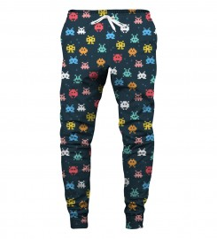 Aloha From Deer, SPACE INVADERS SWEATPANTS Thumbnail $i