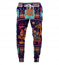Aloha From Deer, TRIBAL CONNECTIONS SWEATPANTS Thumbnail $i
