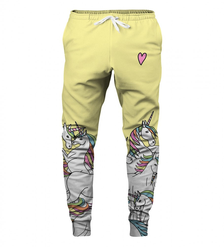 Aloha From Deer, UNICORN SWEATPANTS Image $i