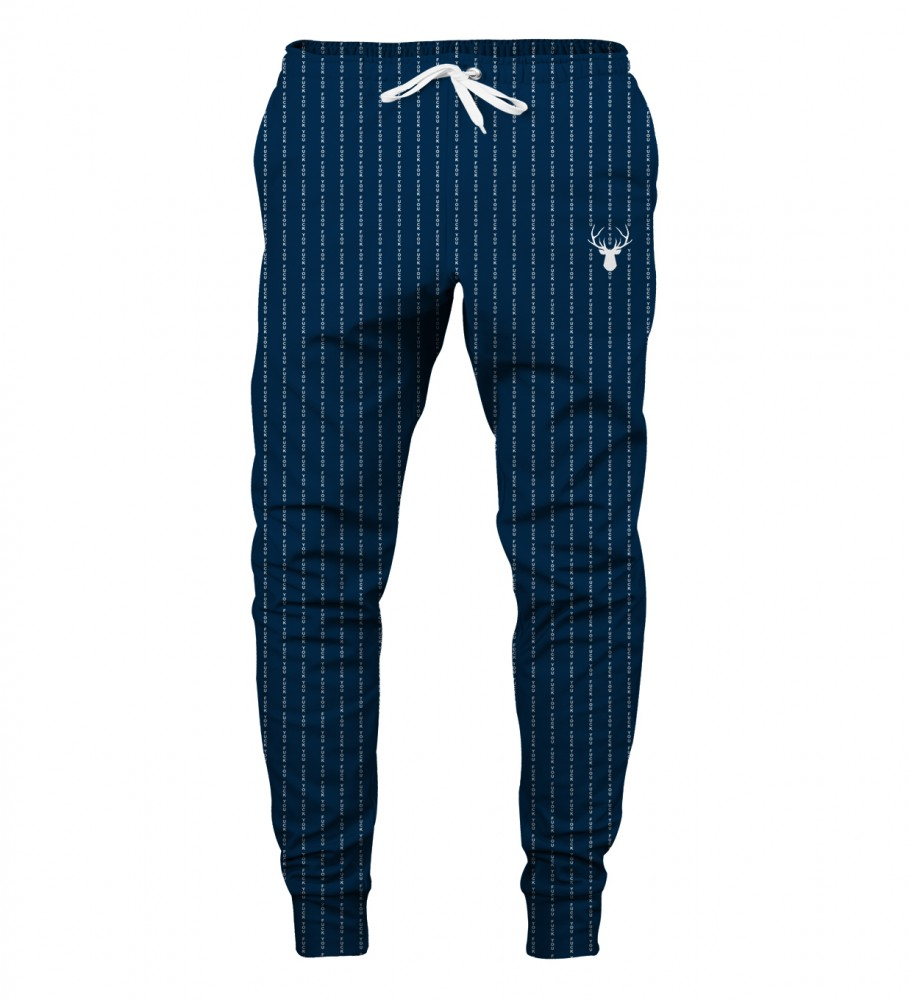 Aloha From Deer, FK YOU NAVY SWEATPANTS Image $i