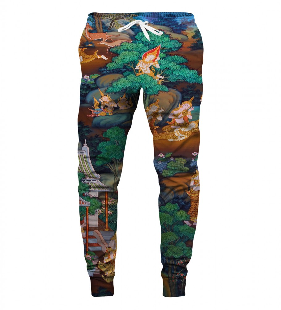 Aloha From Deer, 99 GODDESSES SWEATPANTS Image $i