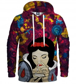Aloha From Deer, SNOW WHITE HOODIE Thumbnail $i