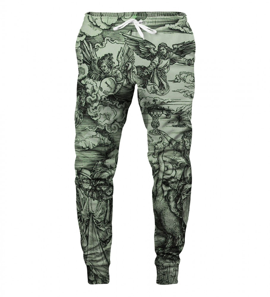 Aloha From Deer, DURER SERIES APOCALYPSE SWEATPANTS Image $i