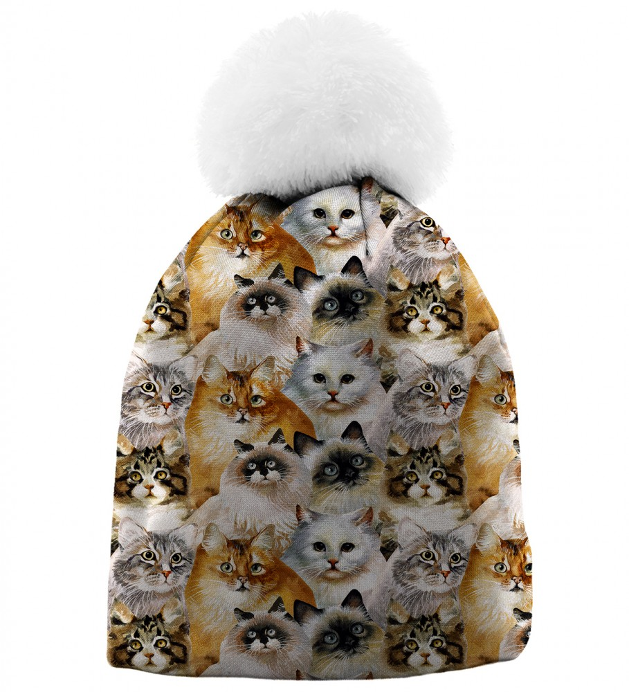 Aloha From Deer, CAT HEADS BEANIE Image $i