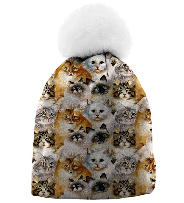 CAT HEADS BEANIE Thumbnail 1