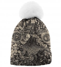Aloha From Deer, DURER SERIES - FIFTH SEAL BEANIE Thumbnail $i