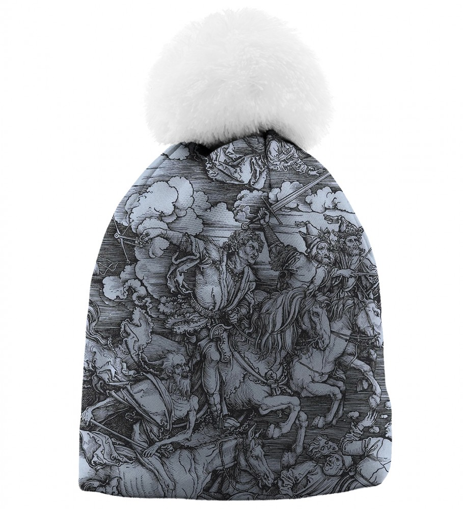 Aloha From Deer, DURER SERIES -FOUR RIDERS BEANIE Image $i