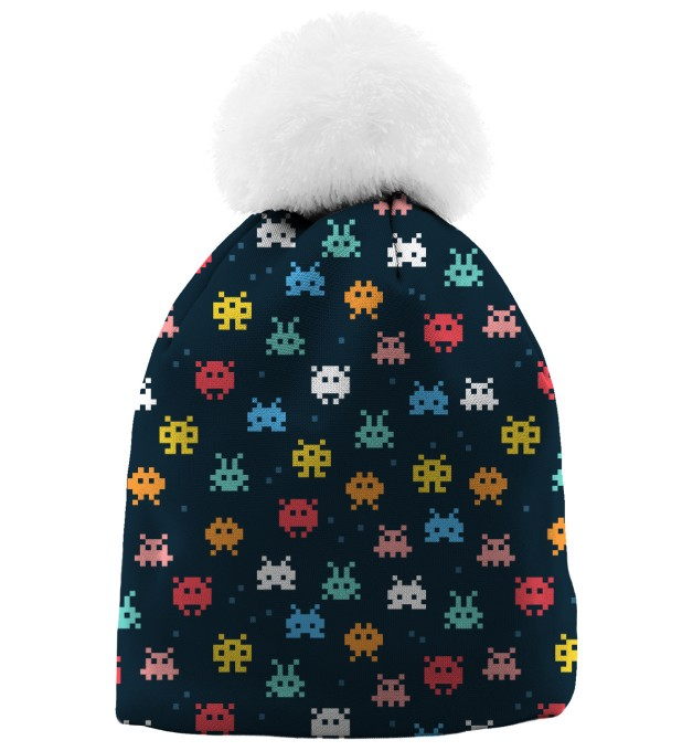 SPACE INVADERS BEANIE Thumbnail 1