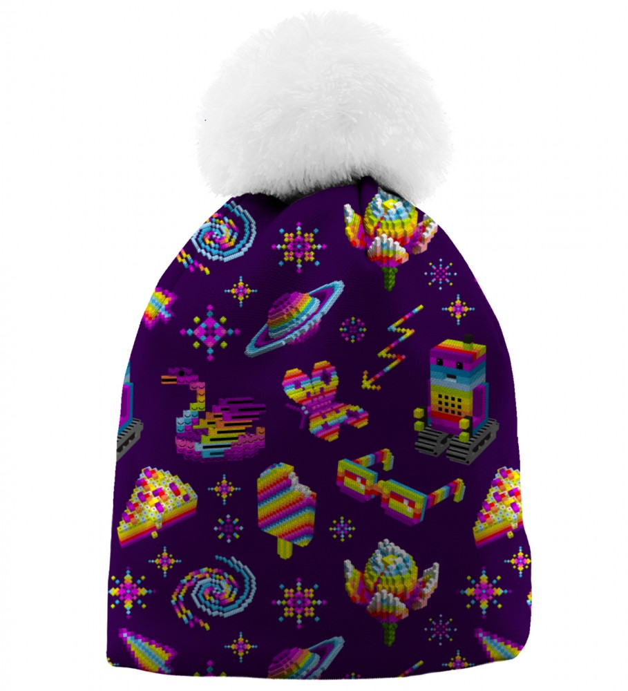 Aloha From Deer, PIXEL PERFECT BEANIE Image $i