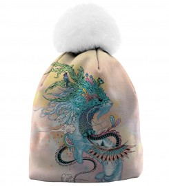 Aloha From Deer, JOURNEYING SPIRIT - ERMINE BEANIE Thumbnail $i