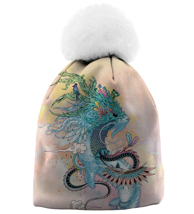 JOURNEYING SPIRIT - ERMINE BEANIE Miniatury 1