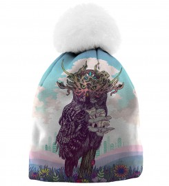 Aloha From Deer, JOURNEYING SPIRIT - OWL BEANIE Thumbnail $i