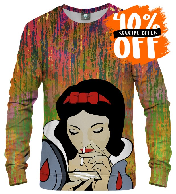 BLURRED LINES SNOW WHITE SWEATER Thumbnail 1