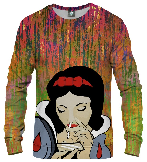 BLURRED LINES SNOW WHITE SWEATER Thumbnail 2