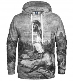 Aloha From Deer, Dore series - david & goliath HOODIE Thumbnail $i