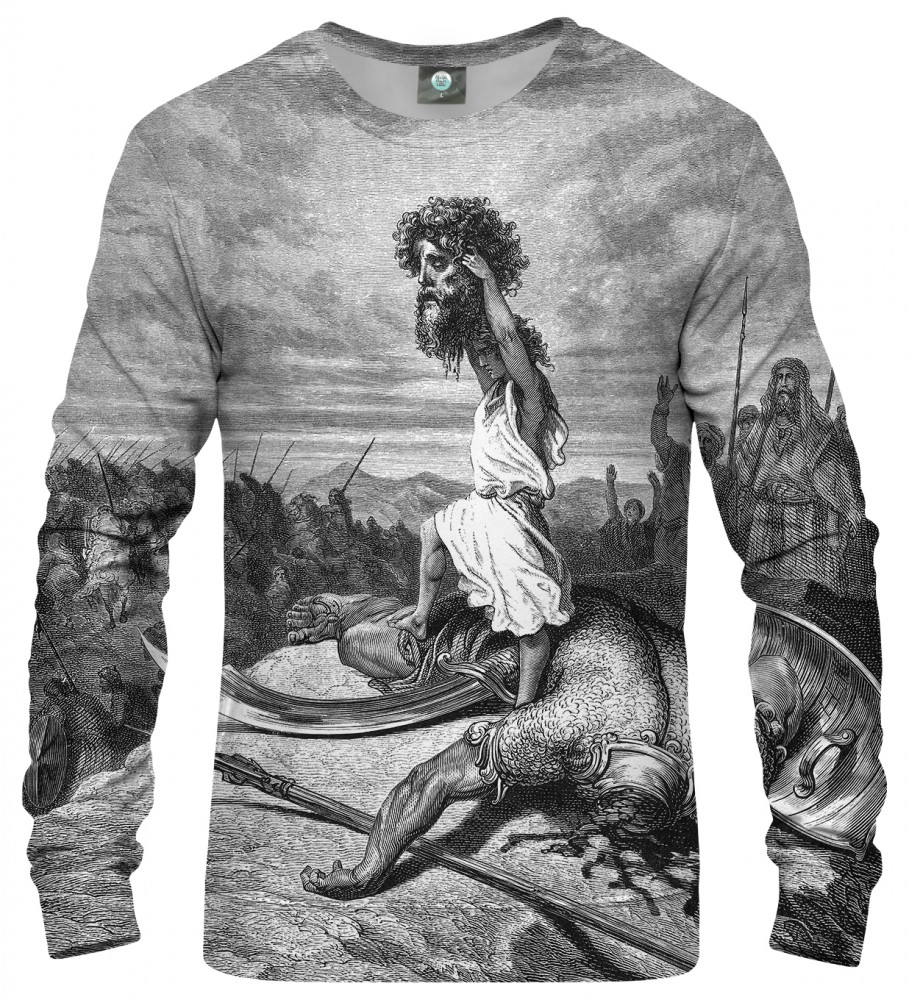 Aloha From Deer, Dore series - david & goliath SWEATER Image $i