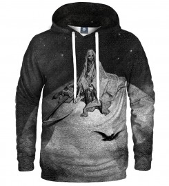 Aloha From Deer, Doré series - death raven HOODIE Thumbnail $i