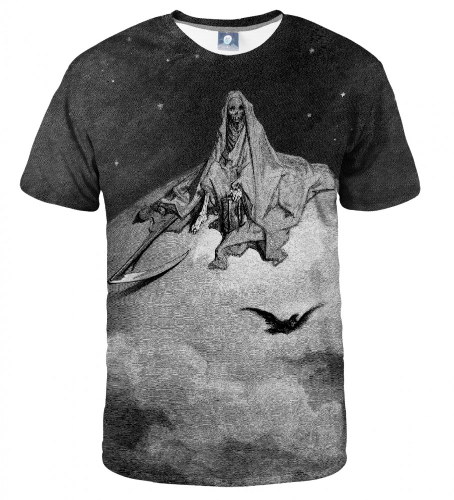 Aloha From Deer, Dore series - death raven T-SHIRT Image $i