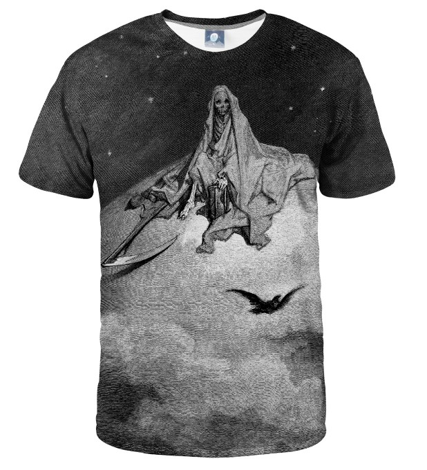Dore series - death raven T-SHIRT Thumbnail 1
