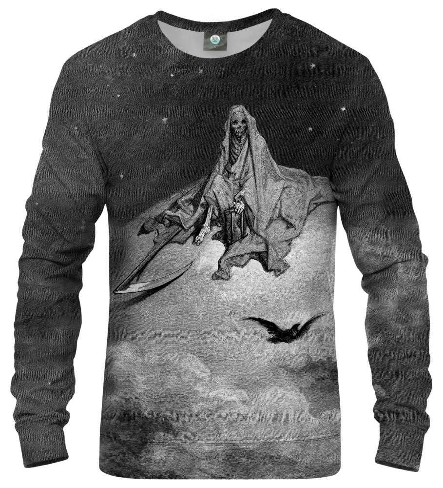 Aloha From Deer, Dore series - death raven SWEATER Image $i