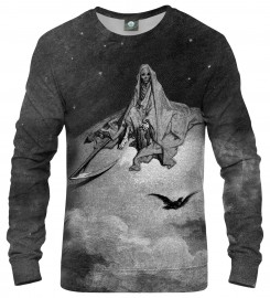 Aloha From Deer, Dore series - death raven SWEATER Thumbnail $i