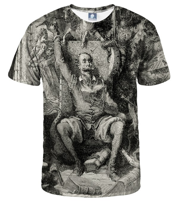 Dore series - don quixote T-SHIRT Thumbnail 1