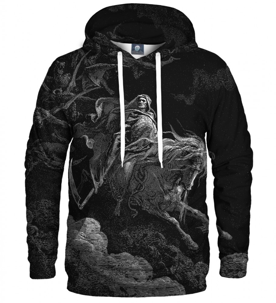Aloha From Deer, Dore series - pale horse  HOODIE Image $i