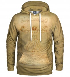 Aloha From Deer, Vitruvian Man HOODIE Thumbnail $i