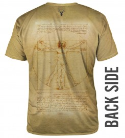 Aloha From Deer, Vitruvian Man T-SHIRT Thumbnail $i