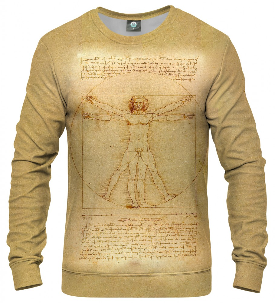 Aloha From Deer, Vitruvian Man SWEATER Image $i