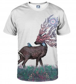 Aloha From Deer, WHITE COMPANIONS T-SHIRT Thumbnail $i