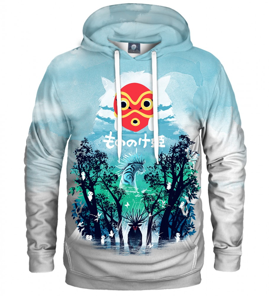 Aloha From Deer, WHITE PRINCESS HOODIE Image $i
