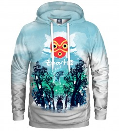 Aloha From Deer, WHITE PRINCESS HOODIE Thumbnail $i