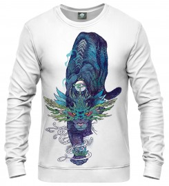 Aloha From Deer, WHITE SPECTRAL CAT SWEATER Thumbnail $i