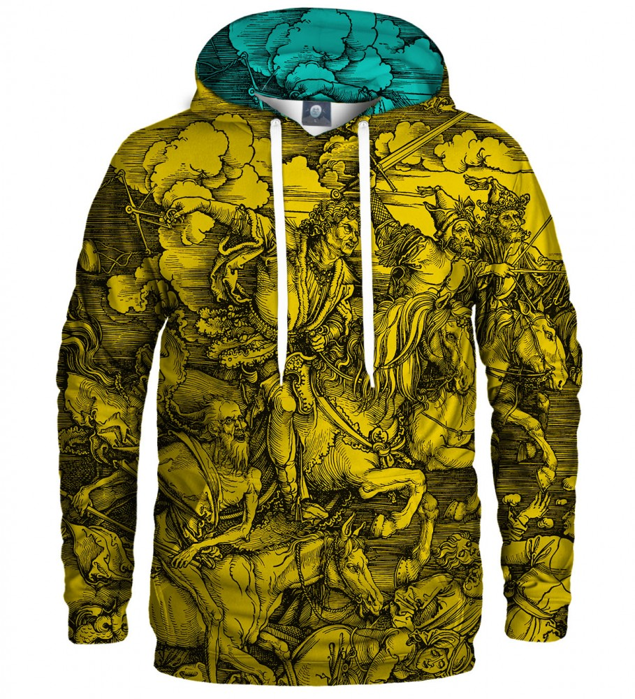 Aloha From Deer, YELLOW DURER SERIES - FOUR RIDERS HOODIE Image $i