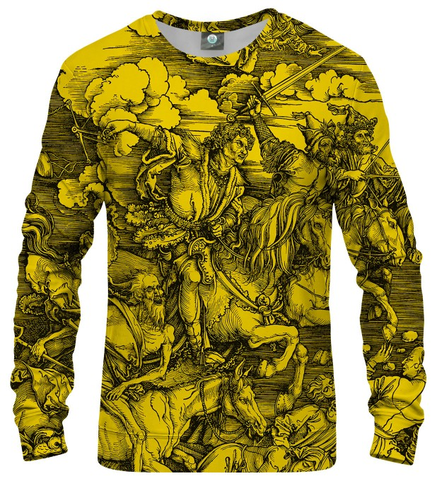 YELLOW DURER SERIES - FOUR RIDERS SWEATSHIRT Thumbnail 1