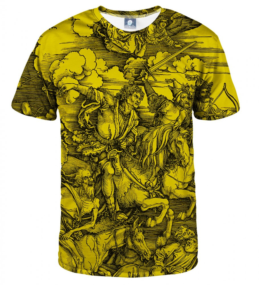 Aloha From Deer, YELLOW DURER SERIES - FOUR RIDERS T-SHIRT Image $i