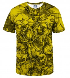 Aloha From Deer, YELLOW DURER SERIES - FOUR RIDERS T-SHIRT Thumbnail $i