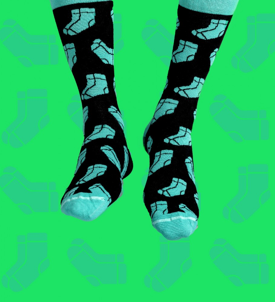Aloha From Deer, Inception Cotton Socks Image $i