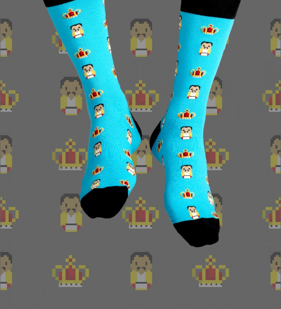 Aloha From Deer, Freddie Cotton Socks Image $i