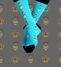 Aloha From Deer, Freddie Cotton Socks Thumbnail $i