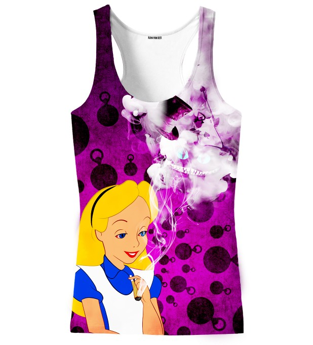 ALICE IN WEEDLAND TANK TOP Thumbnail 1
