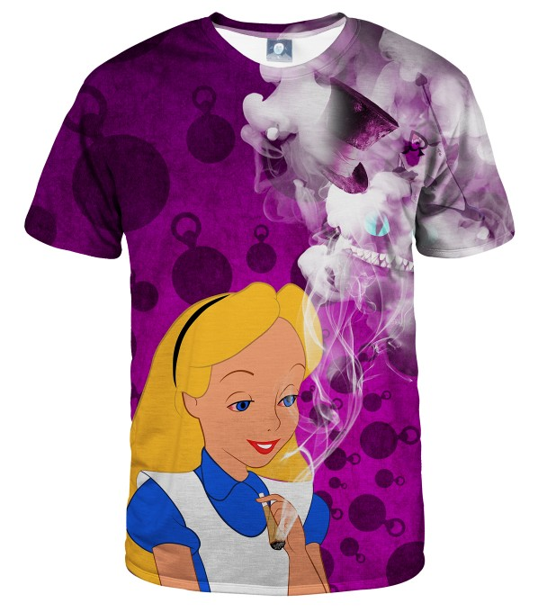 ALICE IN WEEDLAND  T-SHIRT Thumbnail 2